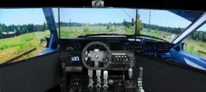 závodní simulátor